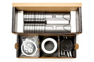 Steer King shop-ready box and parts tray