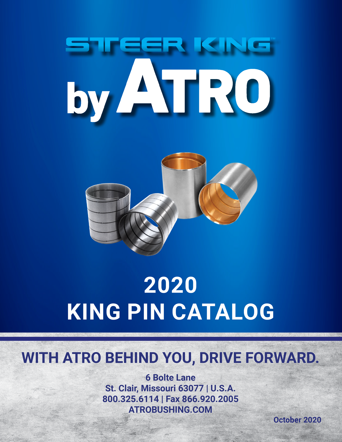 ATRO Steer King 2020 King Pin Catalog and Cross Reference