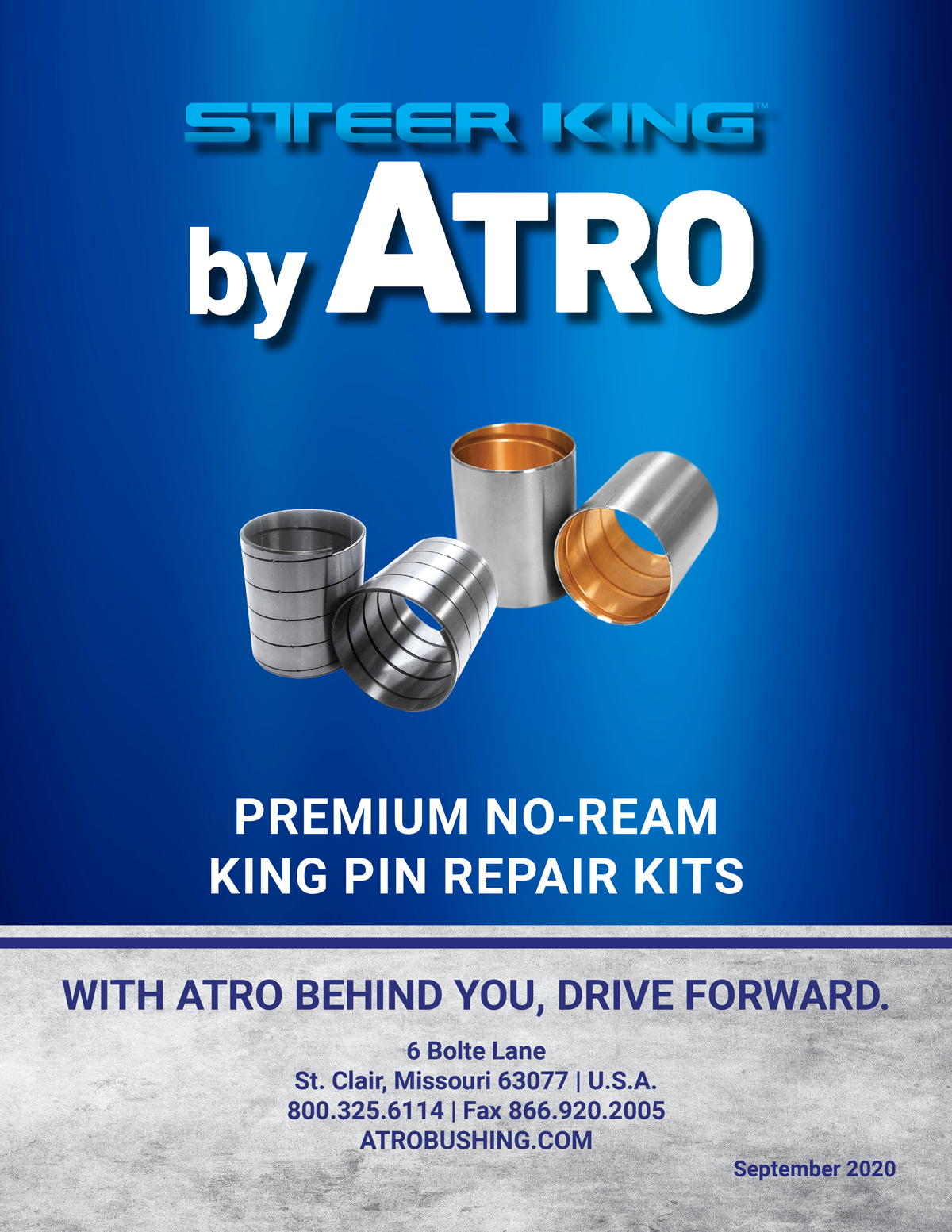 ATRO Steer King 2020 4-Page Product Overview